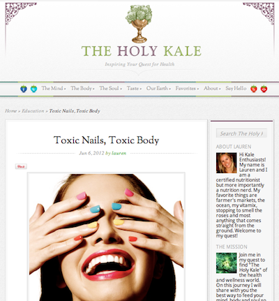 The Holy Kale The Glamorganic Goddess