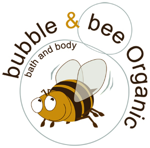 Bubble + Bee Organic Logo