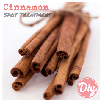 DIY Beauty Natural Organic Recipe Cinnamon Nutmeg Honey Spot Acne Treatment