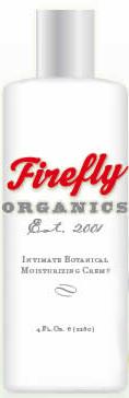 Firefly Organics Intimate Botanical Moisturizing Creme