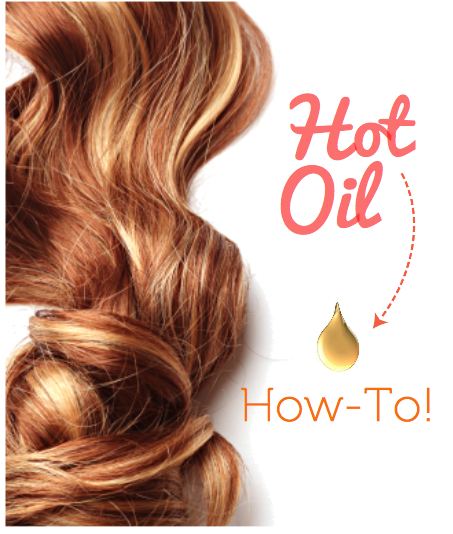 Organic Hot Oil How to for Hair