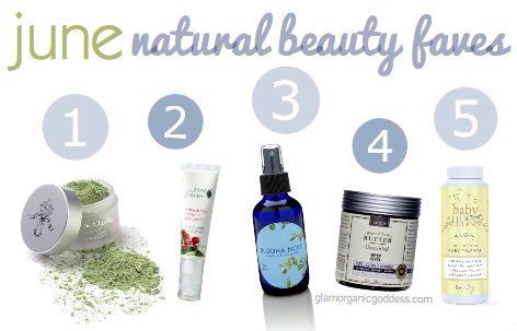 June Natural Beauty Faves