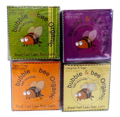 Bubble + Bee Organic Bath Salt Cubes Review