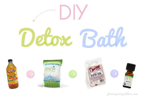 diy beauty detox bath recipe