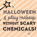 Safe Halloween + Play Makeup Without Scary Chemicals!