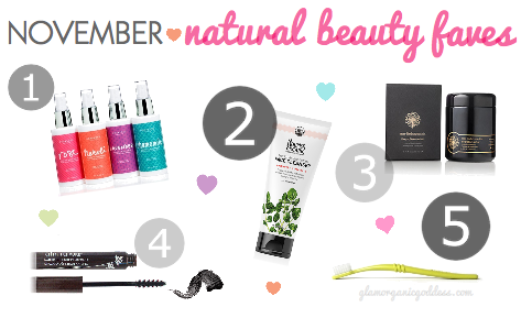 November Natural Beauty Favorites