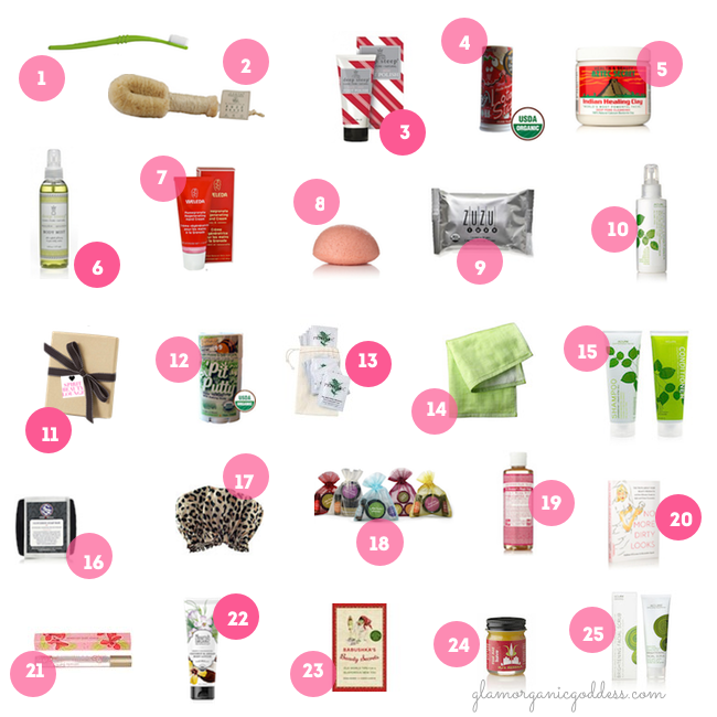 50 Green + Glam Stocking Stuffers First 25