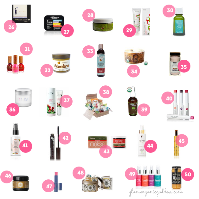 50 Green + Glam Stocking Stuffers Second 25