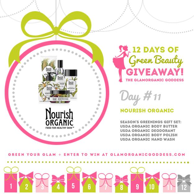 Green Beauty Giveaway Nourish Organic DAY 11
