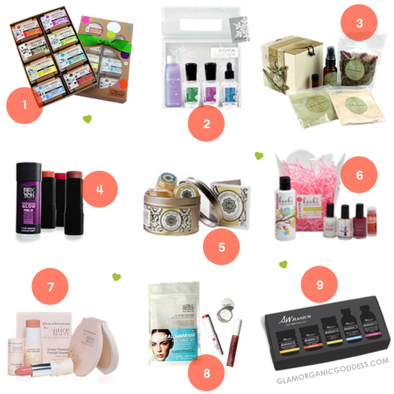 Green Beauty Holiday Gift Guide 1-9