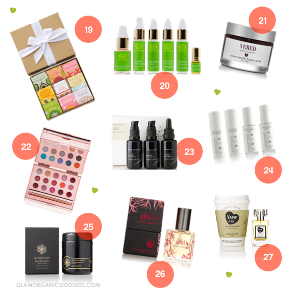 Green Beauty Healthy Holiday Gift Guide