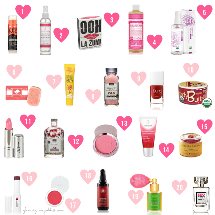 Valentines Day Gift Guide Green Beauty
