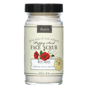 Thesis Beauty West Indies Poppy Seed Facial Scrub REVIEW