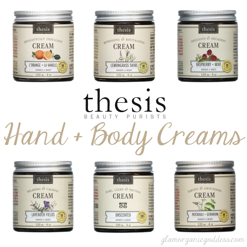 Thesis Beauty Hand + Body Creams Review