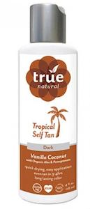 True Natural Tropical Tan Face + Body Dark Self Tanner Review