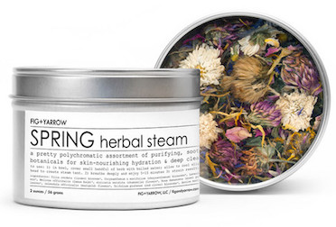 Fig + Yarrow Herbal Steam-SPRING-Review