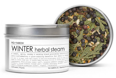 Fig + Yarrow Herbal Steam-WINTER-Review