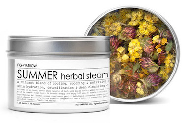 Fig + yarrow Herbal Steam-SUMMER-Review