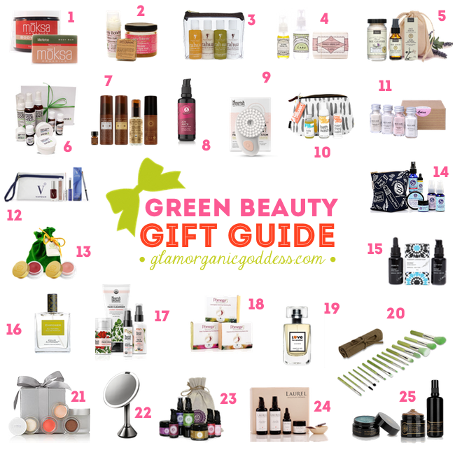 Green Beauty Holiday Gift Guide Natural Organic Beauty 2014
