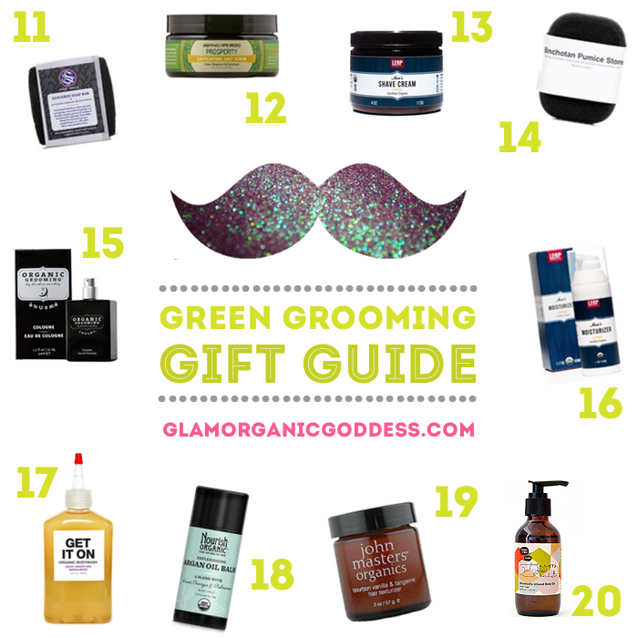 Green Grooming Gift Guide 11 20