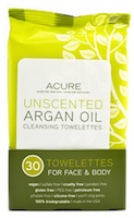 Acure Organics Argan Oil Facial Cleansing Towelletes