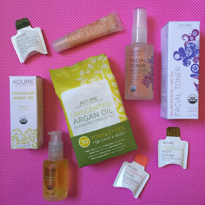 Acure Organics Glamoragnic Beauty Kit Products