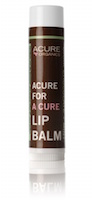 Acure Organics USDA Organic Dark Chocolate + Mint Lip Balm