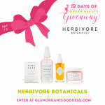 12 Days of Green Beauty Giveaway | Day # 3 Herbivore Botanicals
