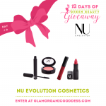 12 Days of Green Beauty Giveaway | Day # 9 Nu Evolution Cosmetics