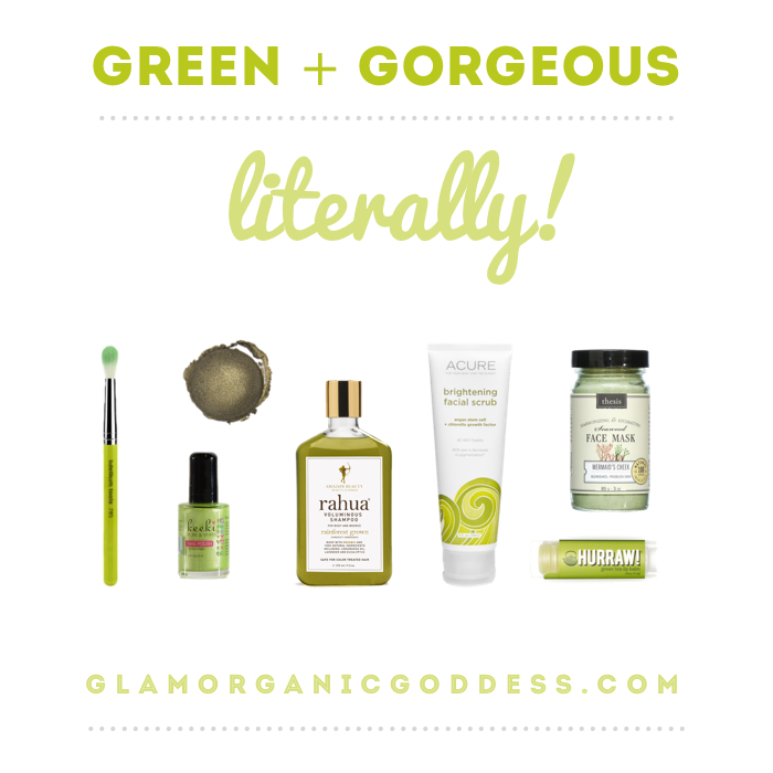 Green_Colored_Beauty_Products